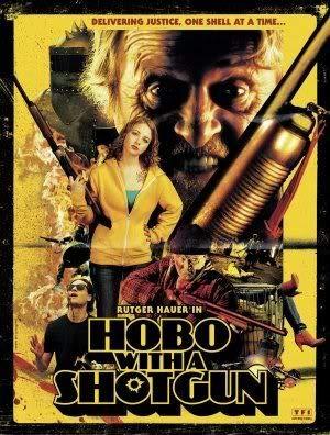 HOBO with A Shotgun - Rutger HAUER – Film Poster Plakat Drucken Bild – 43.2 x 60.7cm Größe Grösse Filmplakat