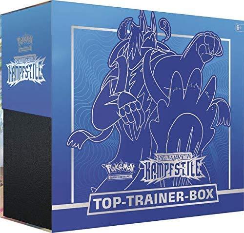 The Pokémon Company Pokemon Schwert & Schild Kampfstile Top Trainer Box (blau)