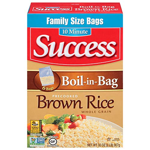 Success BoilinBag Rice Whole Grain Brown Rice 32 oz Box