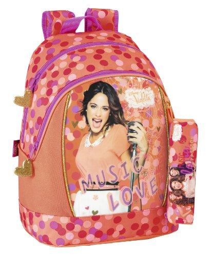 Violetta grand sac à dos + trousse d'écolier