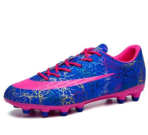 YFJL Zapatillas De Fútbol para Hombre Zapatos De Entrenamiento para Estudiantes Juveniles Zapatos De Entrenamiento De Fútbol Zapatos De Fútbol para Hombres Y Mujeres Zapatos para Niños,A,40