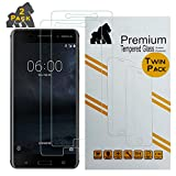 Gorilla Tech Screen Protector Nokia 7 Plus (2 Pack) Case