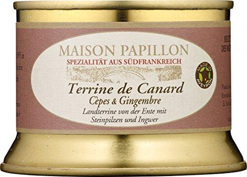 Maison Papillon - Entenpastete mit Steinpilzen&Ingwer - 130 g