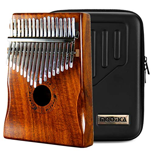 Moozica 17 Schlüssel Kalimba Marimba, High Qualität Professionelle Finger Daumen Piano...