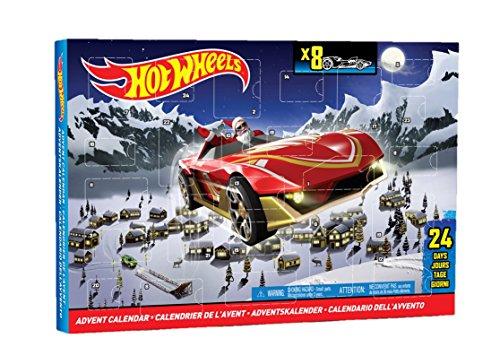 Mattel Hot Wheels CBL07 - Adventskalender 2014