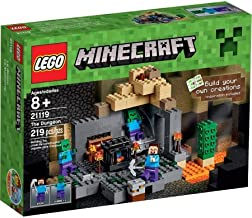 LEGO Minecraft The Dungeon Comes With 219 Pieces