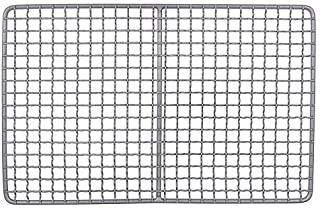 ZKS-KS Titanium Charcoal Bbq Grill Barbecue Grill Durable Net Plate Camping Tableware