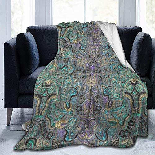 ARRISLIFE Manta de franela suave para sofá, cama, sofá, silla, oficina, viajes, camping