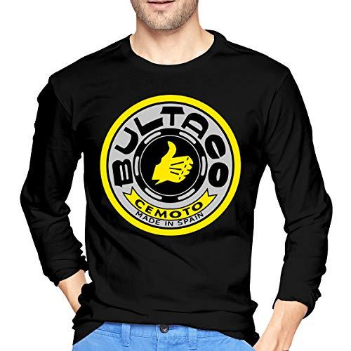 Abcdde Bultaco Pursang Men's Long-Sleeve T-Shirt Black