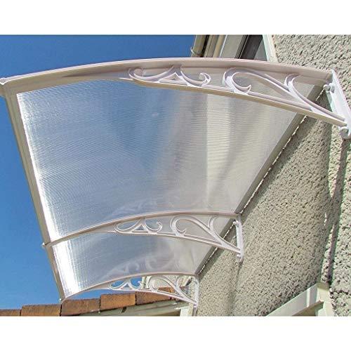 Lw Canopies Glorietas de la Puerta Principal de la Ventana Toldo Toldo, contra los Rayos UV Patio Cubierta de Copas pérgolas de Sombra Jardín Suministros, tamaños múltiples (Size : 120×76×23cm)