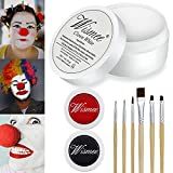 Wismee Black White Red Cream Face Body Paint...