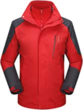 Men's Windproof Waterproof Jacket Winter Hooded Mountain Ski Quick-Drying Breathable Windbreaker Outdoor Outwear photo