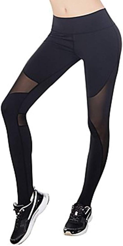 AILIUJUNBING Women's See Through OnePiece Suit Running TightsWhite, Black, Grey Sports Modal, Mesh Tights Leggings Yoga, Fitness, Gym Activewear Quick Dry