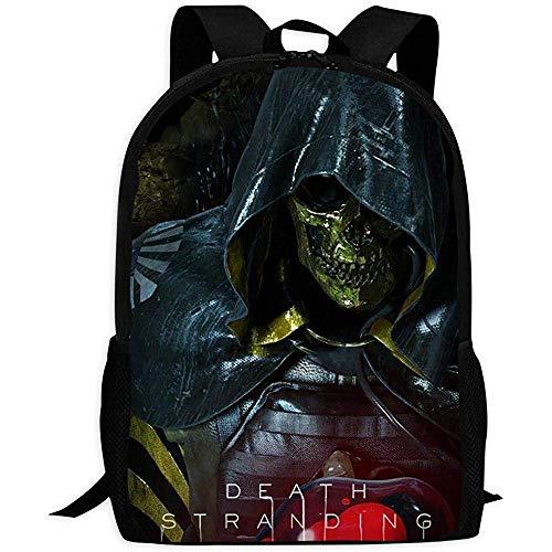 Bookbag,DEA-TH Str-Anding Skull Knight Fashionable School Bags For Gym Athletic Running