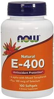 Now Foods Vitamin E-400 Mixed Tocopherols - 100 Softgels