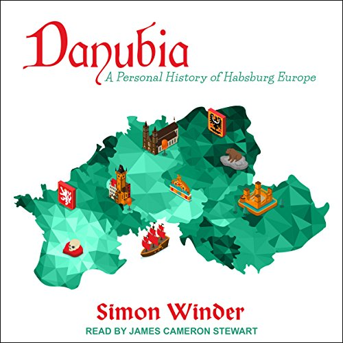 Danubia audiobook cover art