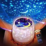 ベッドサイドランプ スタープロジェクター プラネタリウム Ruluniky 常夜灯 星空ライト 家庭用 プラネタリウム雰囲気を作り 星空投影 多色変更可能 360度回転 USB 電池 兼用寝室用 プレゼント/誕生日/祝日ギフトにも最適– 6 セット投影映画