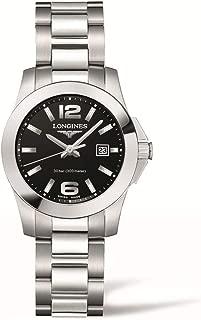 [ロンジン] 腕時計 コンクエスト クォーツ L3.376.4.58.6 メンズ 正規輸入品 シルバー