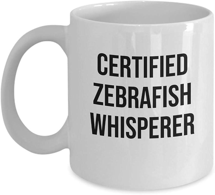 Zebrafish Whisperer Mug Tropical Aqurium Fish Lover Gift