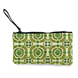 Portefeuille Unisexe, Boxwood Garden - Topiary Collection Multifunctional Portable Canvas Coin Purse Phone Pouch Cosmetic Bag,Zippered Wristlets Bag