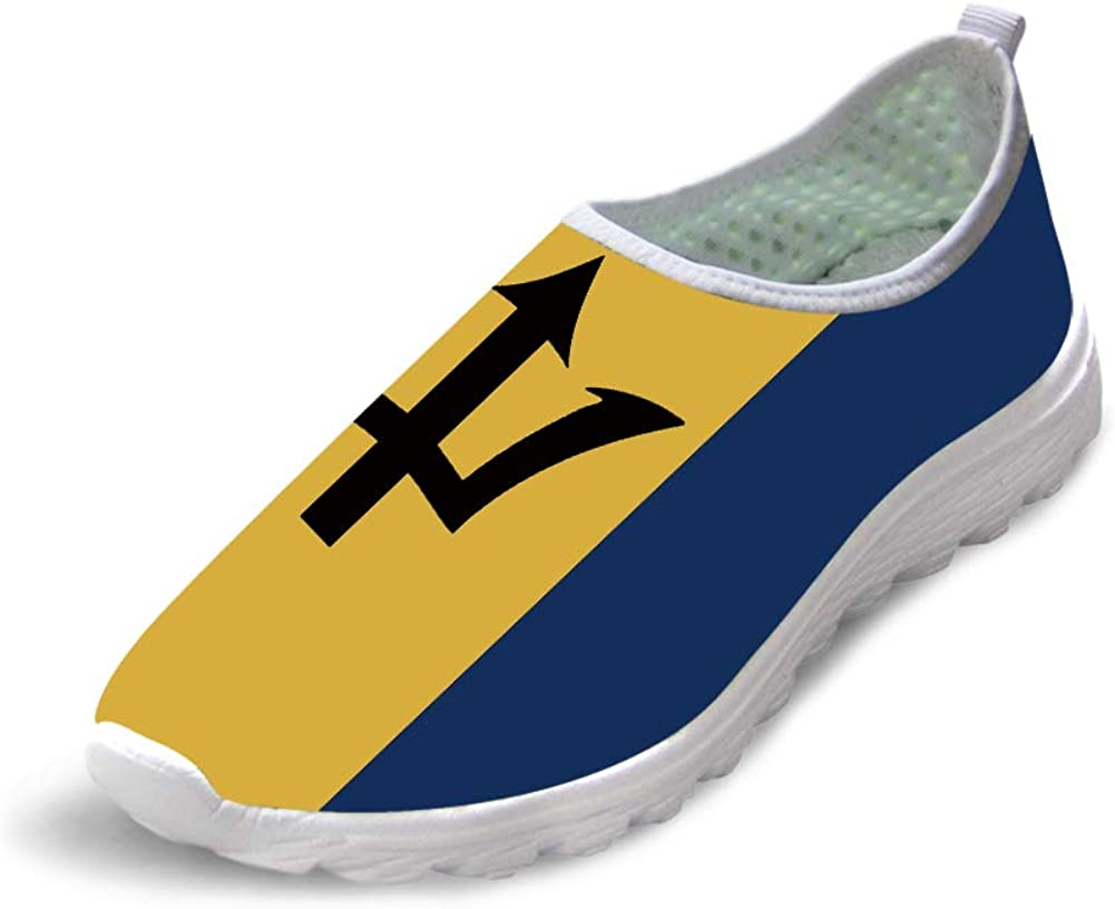 UK USA Flag Fashion Running Shoes Lightweight Sneakers Casual Breathable Walking Sports Shoes