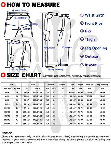 Match Men's Slim Fit Straight Leg Casual Pants (36, 8036 Blue)