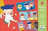 Djeco- Juegos educativos - Puzzle Duo/Trio, Color Mixto (DJ08152)