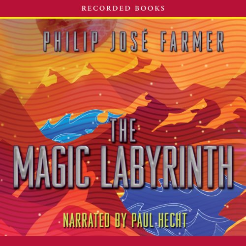The Magic Labyrinth audiobook cover art
