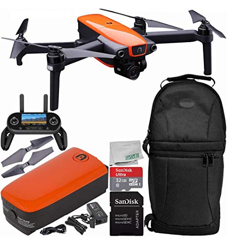 Autel Robotics EVO Foldable Quadcopter with 3-Axis Gimbal Starters...