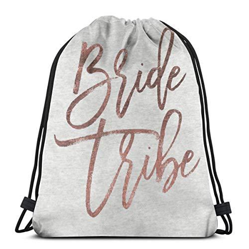 PPCCLPPO Men's Ladies Bride Tribe Sport Ricreativi E Ricreativi Zaino per Fitness Sportivo Shopping | Gita | Fitness, Luce E Bellezza