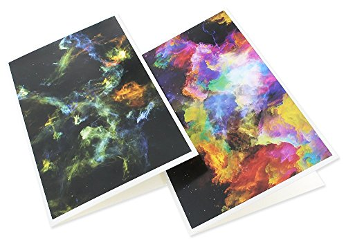 48 Pack All Occasion Greeting Cards - Assorted Blank Note Cards Bulk Box Set Cosmic Designs - Envelopes Included - 4 x 6 Inches Photo #5