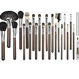 YZZ Conjunto de cepillos de Maquillaje Profesional de 22 Piezas importadas, cerdas Super Suaves, un Conjunto Completo de Herramientas de Cepillo de Maquillaje de Alta Gama