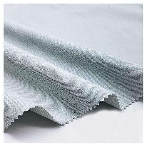 stretch stoff Baumwolle Gewaschener Denim, Sand Gewaschen, Hellblau, Himmelblau, Hergestellt Aus Kleidung, Hosen, Hemden, Röcken, DIY-Kleidungsdesign, Dickem Stoff, 500 G (Size:1.5M*3M,Color:Hellblau)