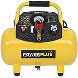 Varo Compresor de aire comprimido sin aceite con 8 o 10 bar de presión máxima y diferentes tamaños del depósito: 6 a 50 litros.