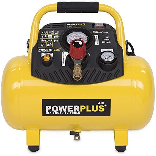 Varo Compressore ad aria compressa senza olio con 8 o 10 bar di pressione massima e diverse dimensioni del serbatoio: 6-50 litri
