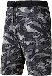 Reebok Men's Crossfit Super Nasty Splash Camo Shorts (Black) CD7605