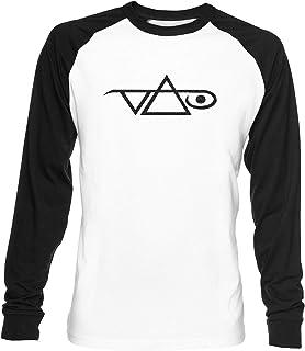 Vai Unisex Blanca De Béisbol Camiseta Hombre Mujer Baseball T-Shirt