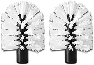 Brush Hero BH107 Replacement Brushes, Pair (Stiff- White/White)