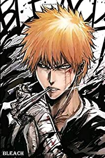 Bleach: Perfect Gift Notebook For Series Fans To Write On, Journal, Composition Book 6x9 - 100 Pages