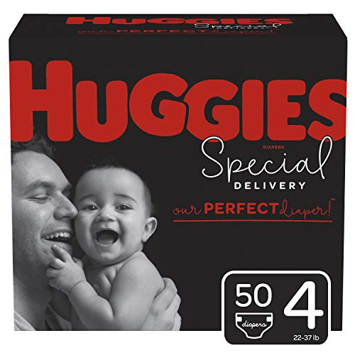 Huggies Special Delivery Hypoallergenic Diapers, Size 4, 50 Ct