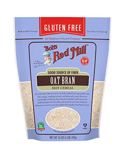 Bob's Red Mill Gluten Free Oat Bran, 16 Ounce (Pack of 4)
