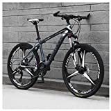 KXDLR Mens Mountain Bike, 21 Speed Bicycle with 17-Inch Frame, 26-Inch Wheels...