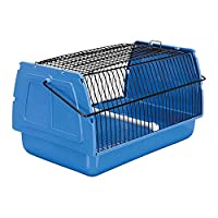Transport box for small birds and small animals Made from plastic material Ideal for carrying the pet to the vet