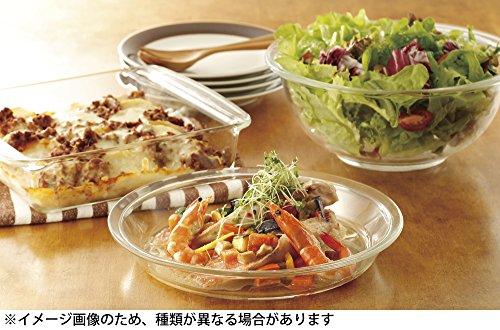 『iwaki(イワキ)耐熱ガラス 皿 食器 ベーシックシリーズ ふち飾り皿 外径19cm KBT207』の3枚目の画像