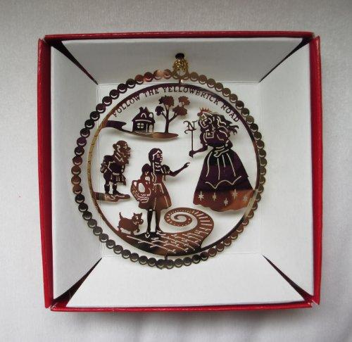 Nations Treasures Wizard of Oz Christmas Ornament Follow The Yellow Brick Road Glinda Munchkin Dorothy Toto
