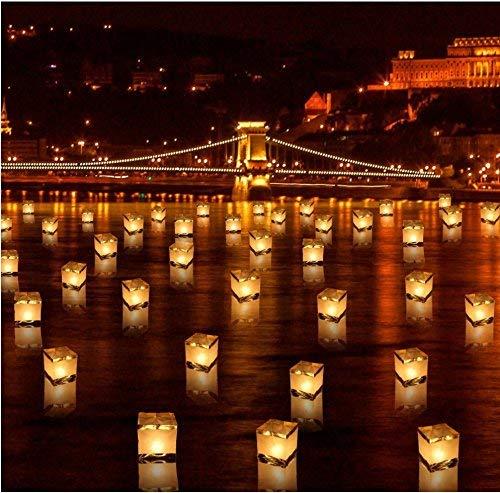 floating lanterns water - 3