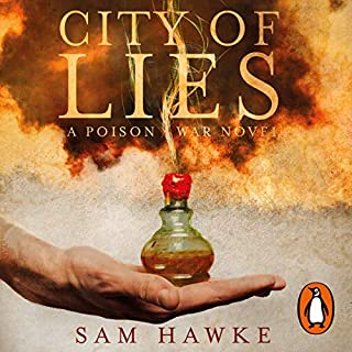 City of Lies                   By:                                                                                                                                 Sam Hawke                               Narrated by:                                                                                                                                 Rosa Coduri,                                                                                        Dan Morgan                      Length: 18 hrs and 14 mins     14 ratings     Overall 4.3