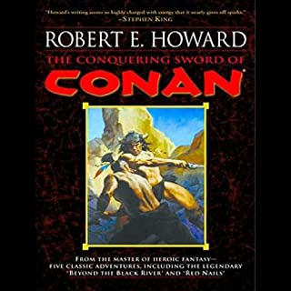 The Conquering Sword of Conan audiobook cover art