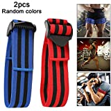 <span class='highlight'><span class='highlight'>Apofly</span></span> 2Pcs Occlusion Training Bands Blood Flow Restriction Bands Comfortable Elastic Straps for Arms and Legs Weightlifting and Fast Muscle Growth Random Color