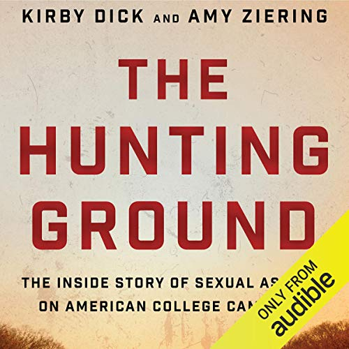 The Hunting Ground audiobook cover art
